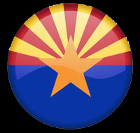 arizona flag button
